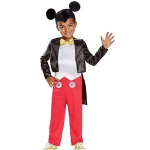 Toddler MICKEY MOUSE Clubhouse Costume Sz 2T   NWT